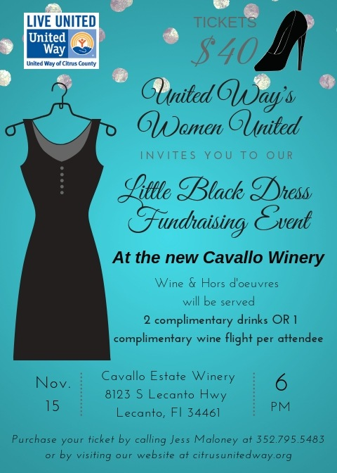 United Ways Women United Little Black Dress Event