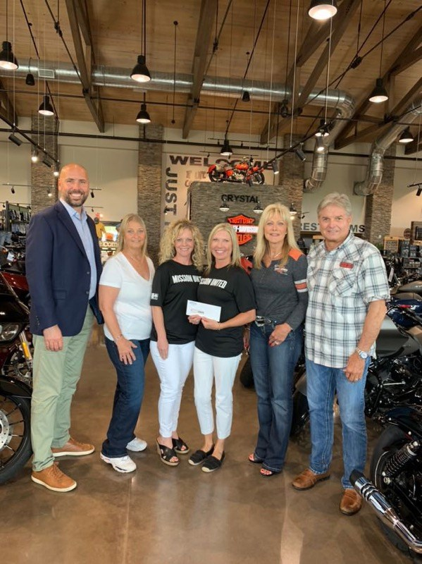 Crystal Harley-Davidson & Lowman Law Firm Support United Way